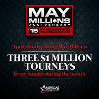 Americas Cardroom May Millions