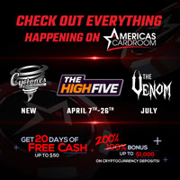 americas Cardroom Promotions 2020
