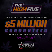 Americas Cardroom High Five 2020