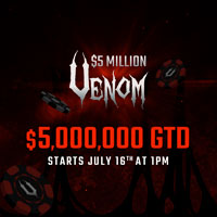 Venom Infographic at Americas Card Room