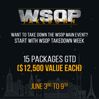 WSOP Satellite Tournaments at Americas Card Room
