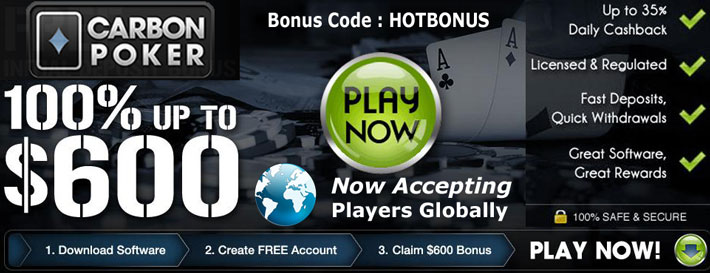 Carbon Poker Accepts US Players
